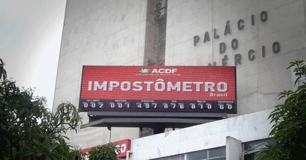 Impostômetro atinge marca de R$ 300 bilhões hoje - Notícias - R7 ...