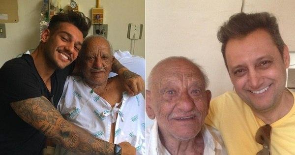 Pai de Lucas Lucco defende o filho após polêmica com o avô no ...