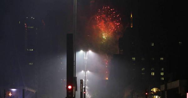 Veja imagens da celebração do Ano-Novo em São Paulo - Fotos ...