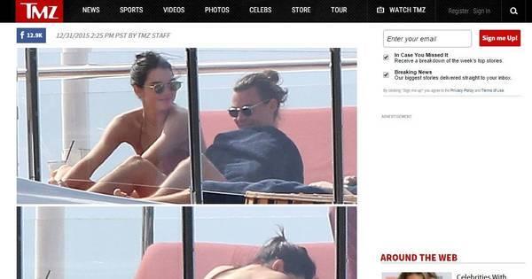 Kendall Jenner e Harry Styles esquentam o clima em St. Barts, no ...