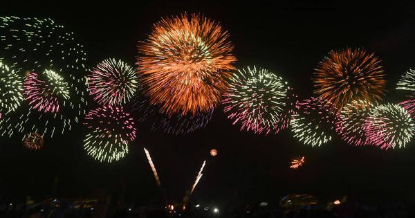 Na noite de Ano Novo, 190 pessoas ficam feridas com fogos de ...