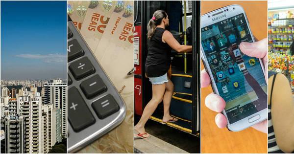 Prepare o bolso! 2016 começa com transporte, IPTU, smartphone e ...