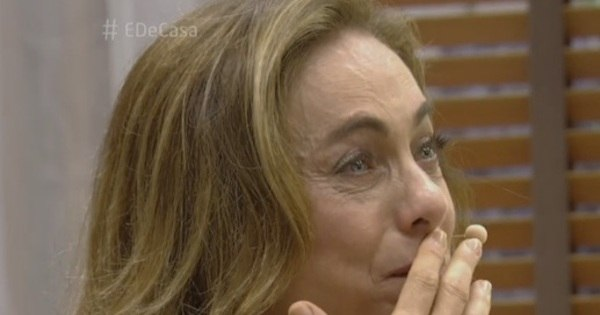 Emocionada, Cissa Guimarães chora ao vivo em programa - Fotos ...