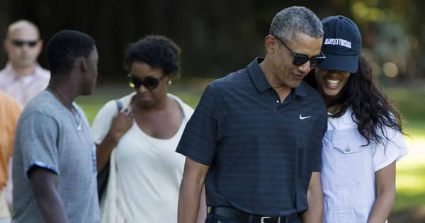 De férias, Barack Obama visita zoológico com as filhas no Havaí ...