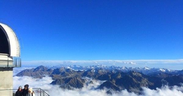Acima das nuvens! Conheça o Pic du Midi, centro de observação de ...