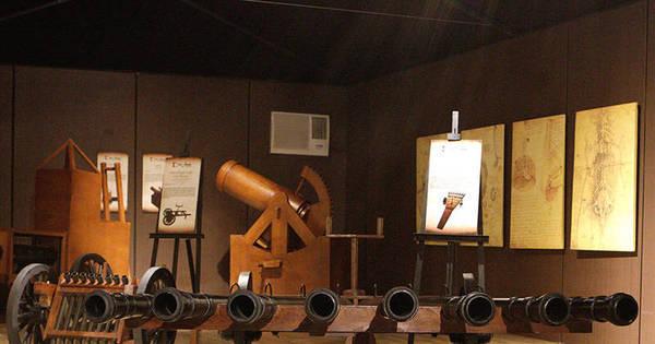"""""""Da Vinci – A Exibição"""" em Salvador"""