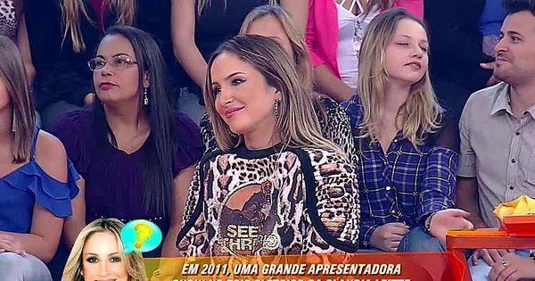 Claudia Leitte chora ao rever momento único com Hebe Camargo ...