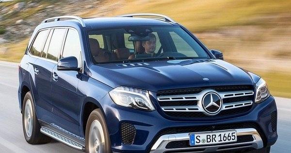 Mercedes-Benz revela o GLS, novo SUV topo de linha da marca ...