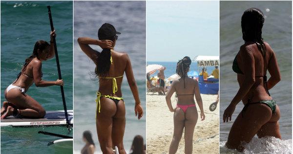 R7 seleciona as 100 anônimas que encantam nas praias do Rio