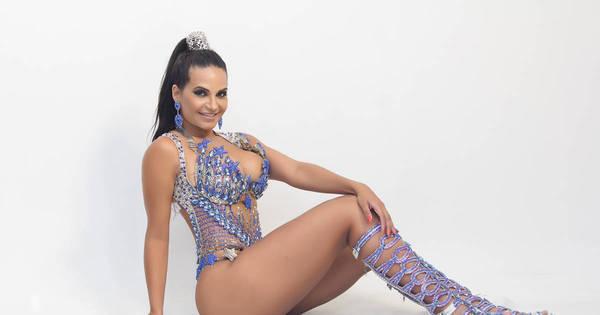 Shayene Cesário mostra corpão em ensaio e fala sobre dieta para o ...