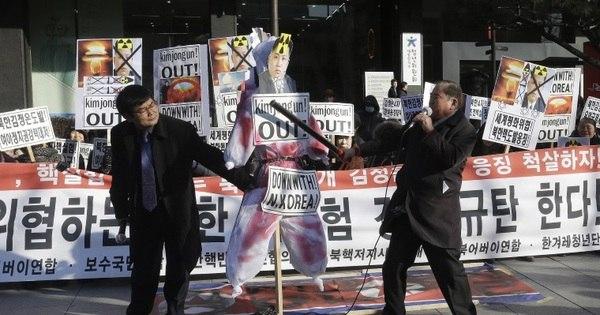 Seul dispara contra drone norte-coreano na fronteira - Notícias - R7 ...