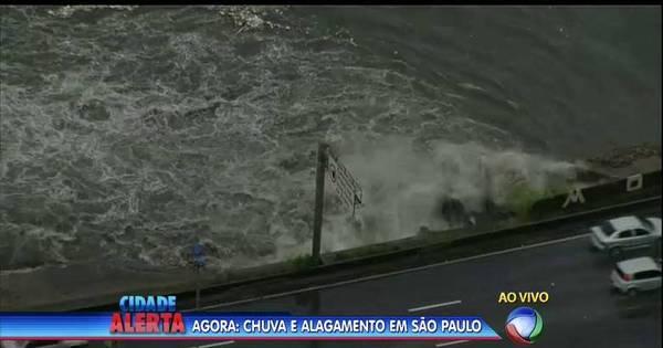Chuvas causam alagamentos em São Paulo - Notícias - R7 São Paulo