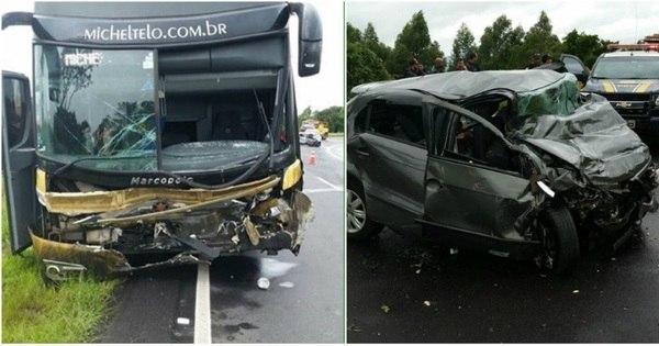 Acidente com ônibus de Michel Teló mata três pessoas no PR ...