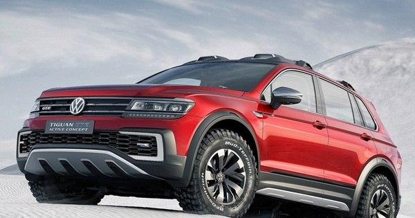 Volkswagen mostra o Tiguan GTE, conceito de SUV híbrido com ...