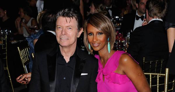 Iman, viúva de Bowie, publicou mensagem de luto dois dias antes ...