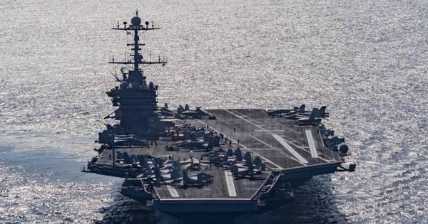Marinheiros dos EUA são detidos no Irã, diz Pentágono - Notícias ...