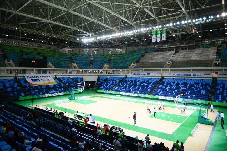 Além dos Jogos Olímpicos, o local receberá o basquete e o rúgbi em cadeira de rodas na Paraolimpíada