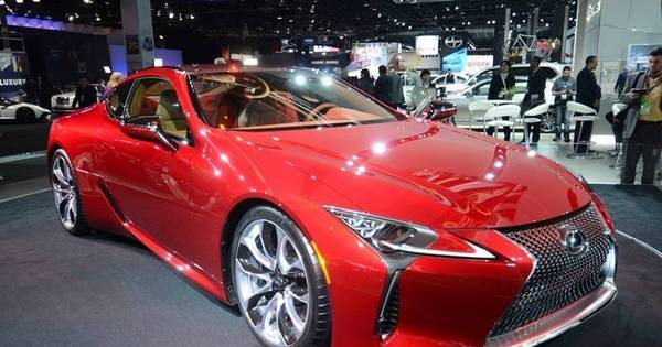 Lexus mostra o LC 500, cupê que une alto luxo, beleza e ...