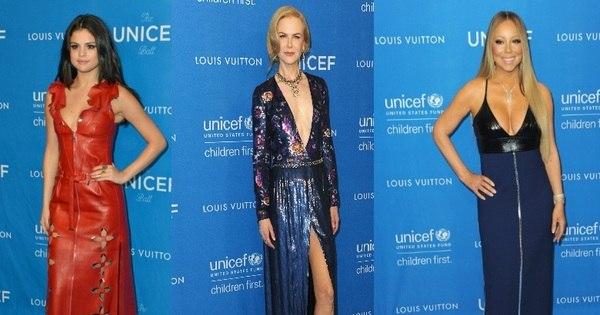 Selena Gomez, Nicole Kidman e outras famosas usam decotes ...