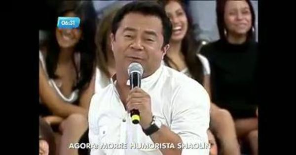 Luto! Morre o humorista Shaolin - Fotos - R7 Balanço Geral Manhã