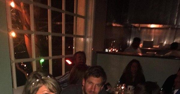 Fã interrompe jantar romântico de Taylor Swift e Calvin Harris para ...