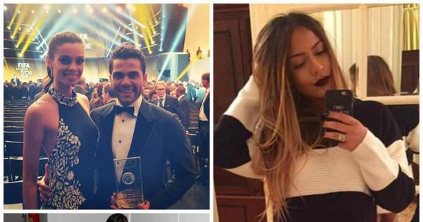 Irmã de Neymar, mulheres dos jogadores na Bola de Ouro e ...