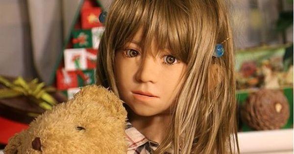 """Chocante: empresa cria bonecas de meninas infláveis """"para evitar ..."""