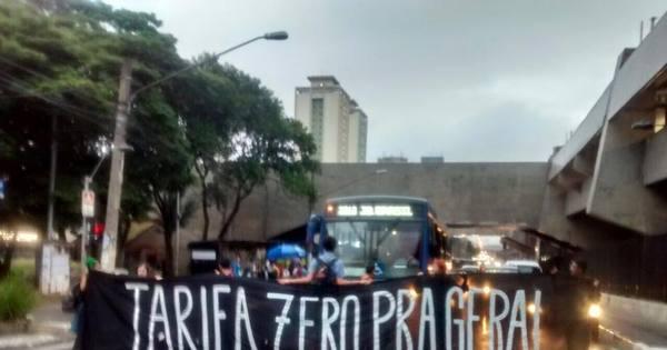 Movimento Passe Livre tem reforço de alunos que ocuparam escolas
