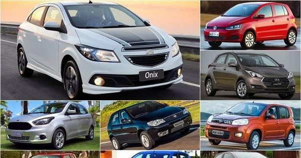Veja o preço médio do seguro dos 10 carros mais vendidos do ...