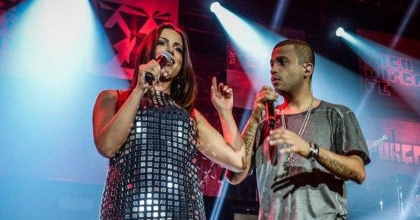 Anitta rouba a cena em gravação de DVD do Projota - Fotos - R7 Pop