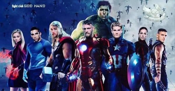 Feras do UFC viram super- heróis em montagem de lutador ...