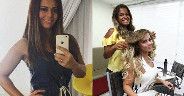 A loira do momento! Viviane Araújo passa por transformação e ...