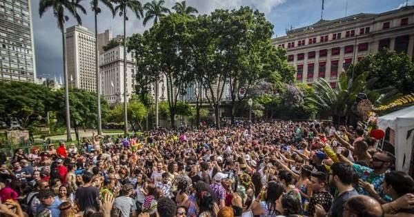 Começou carnaval em SP: foliões se divertem nas ruas neste sábado