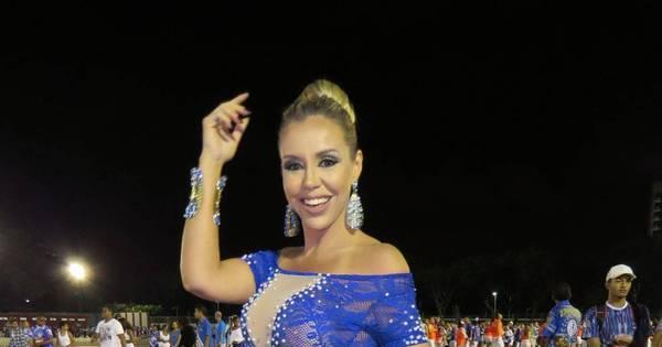 Recordista de desfiles, Renata Banhara volta para o carnaval como ...