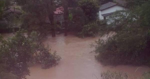 Temporal provoca alagamentos e deixa municípios do RJ em alerta ...