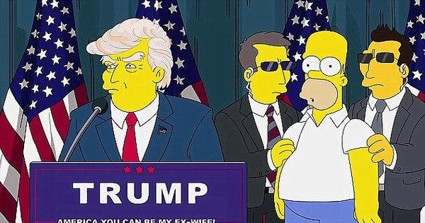 Veja 14 vezes em que Os Simpsons previram o futuro de maneira ...