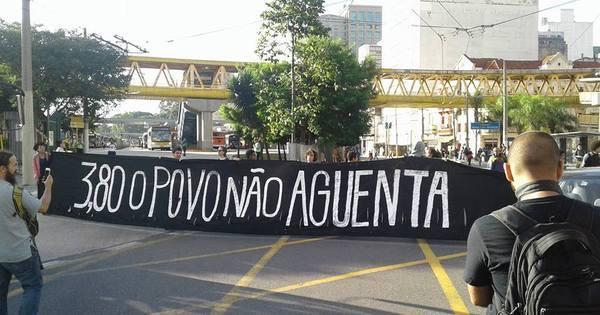 MPL faz manifestação no Terminal Parque Dom Pedro - Notícias ...