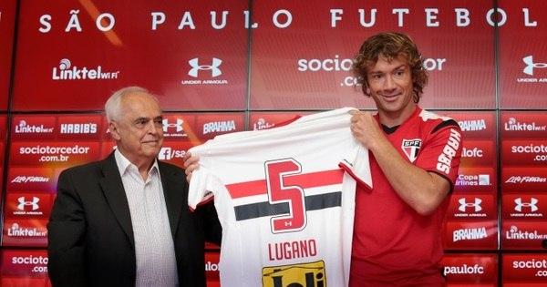 """Lugano chega ao São Paulo """"pronto para o desafio"""", mas não ..."""