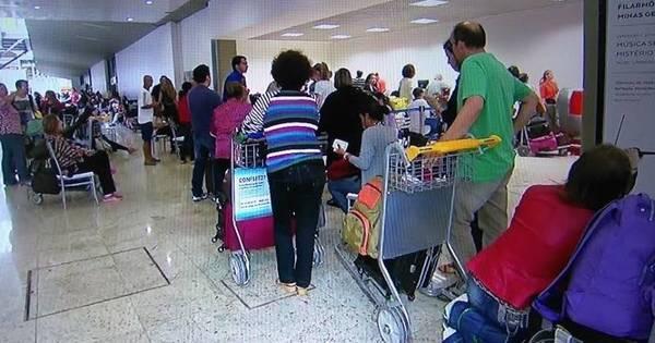 Operando por instrumentos, aeroporto de Confins tem 39 voos ...