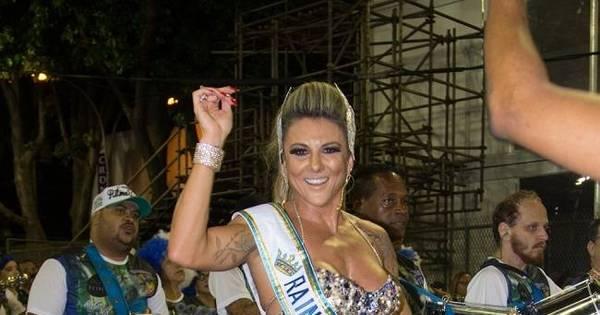 Elaine Ranzatto, nova rainha de bateria da Caprichosos de Pilares ...