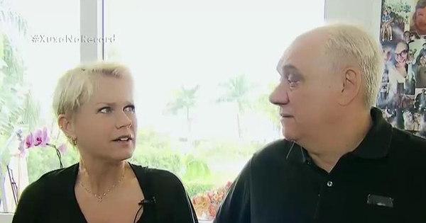 """Xuxa invade a casa de Marcelo Rezende e leva """"fora"""": """"Se ..."""