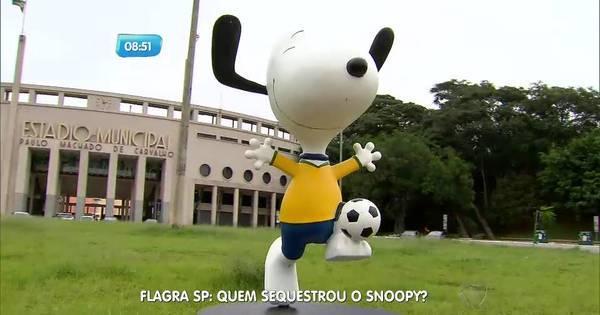 Estátua do Snoopy é roubada na rua Oscar Freire - Fotos - R7 SP ...
