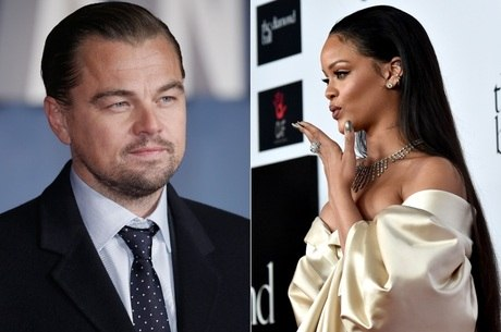 Leonardo DiCaprio e Rihanna são flagrados se beijando muito durante festa, diz jornal