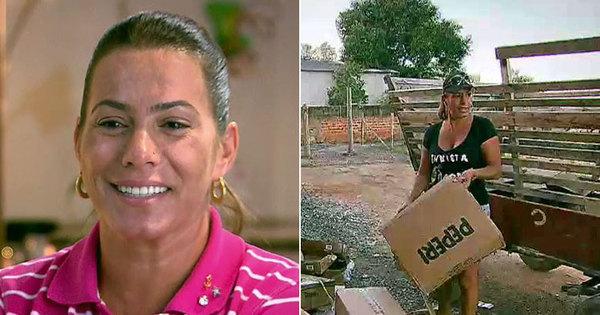 Ex- sem-terra que virou milionária, Débora Rodrigues revive origem ...