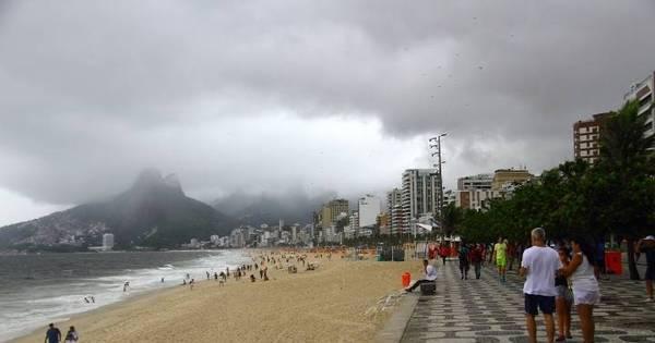 Rio deve ter chuva e temperatura baixa até o fim de semana; veja a ...