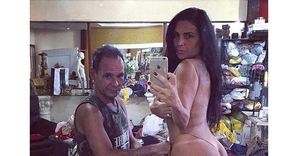 Solange Gomes leva bronca de internauta por foto ousada na rede ...