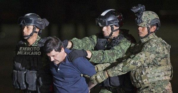 Extradição de El Chapo será um marco na história do México, diz ...