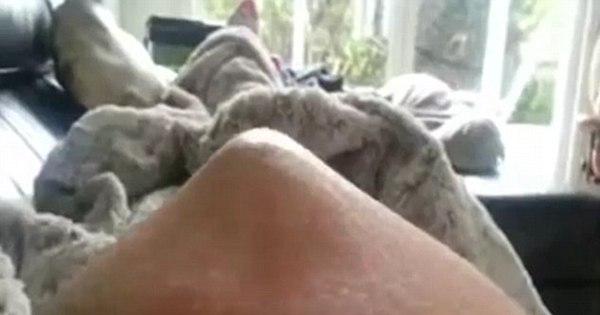 Que agonia! Vídeo chocante mostra bebê se contorcendo na ...