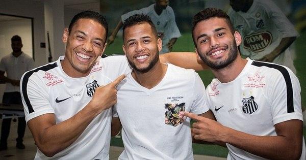 Geuvânio é confirmado pelo Santos em time chinês e diz: ' Até logo ...