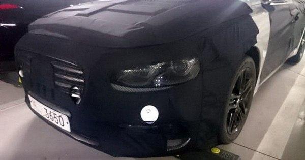 Possível novo Hyundai Azera é flagrado - Notícias - R7 Carros